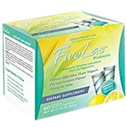 Global Health Trax Fivelac, .053 Ounce Packets 60-Count. More effective than yogurt. Great lemon flavor. Easy to take.