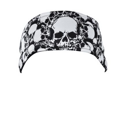 HEADBAND, ALL OVER SKULL (Skull Head Car)