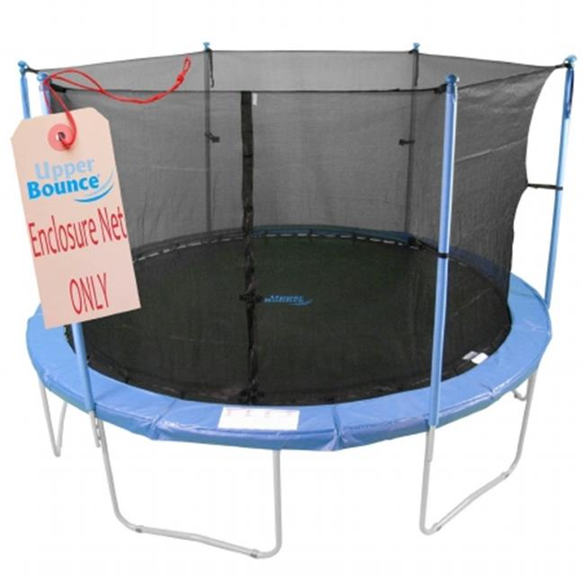 Upper Bounce  Trampoline Replacement Enclosure Net, 6 Poles