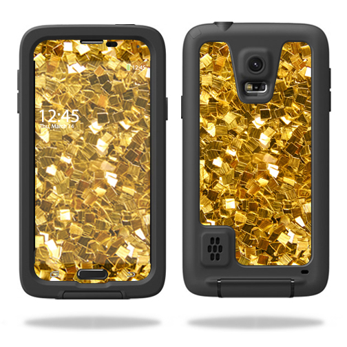 MightySkins Protective Vinyl Skin Decal for LifeProof Samsung Galaxy S5 Case wrap cover sticker skins Gold Chips