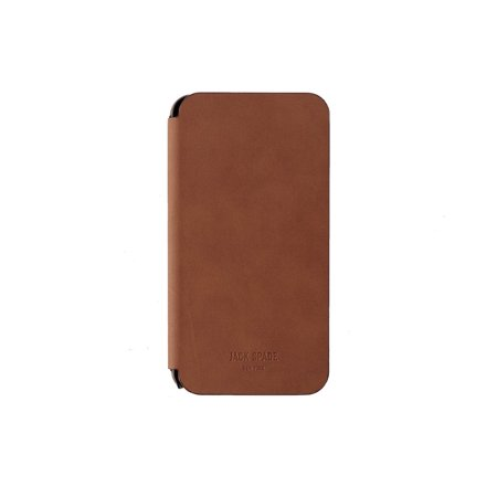 cheap for discount 0379a 6ed15 Jack Spade Leather Folio Hardshell Case for iPhone 6 Plus / 6s Plus - Tan