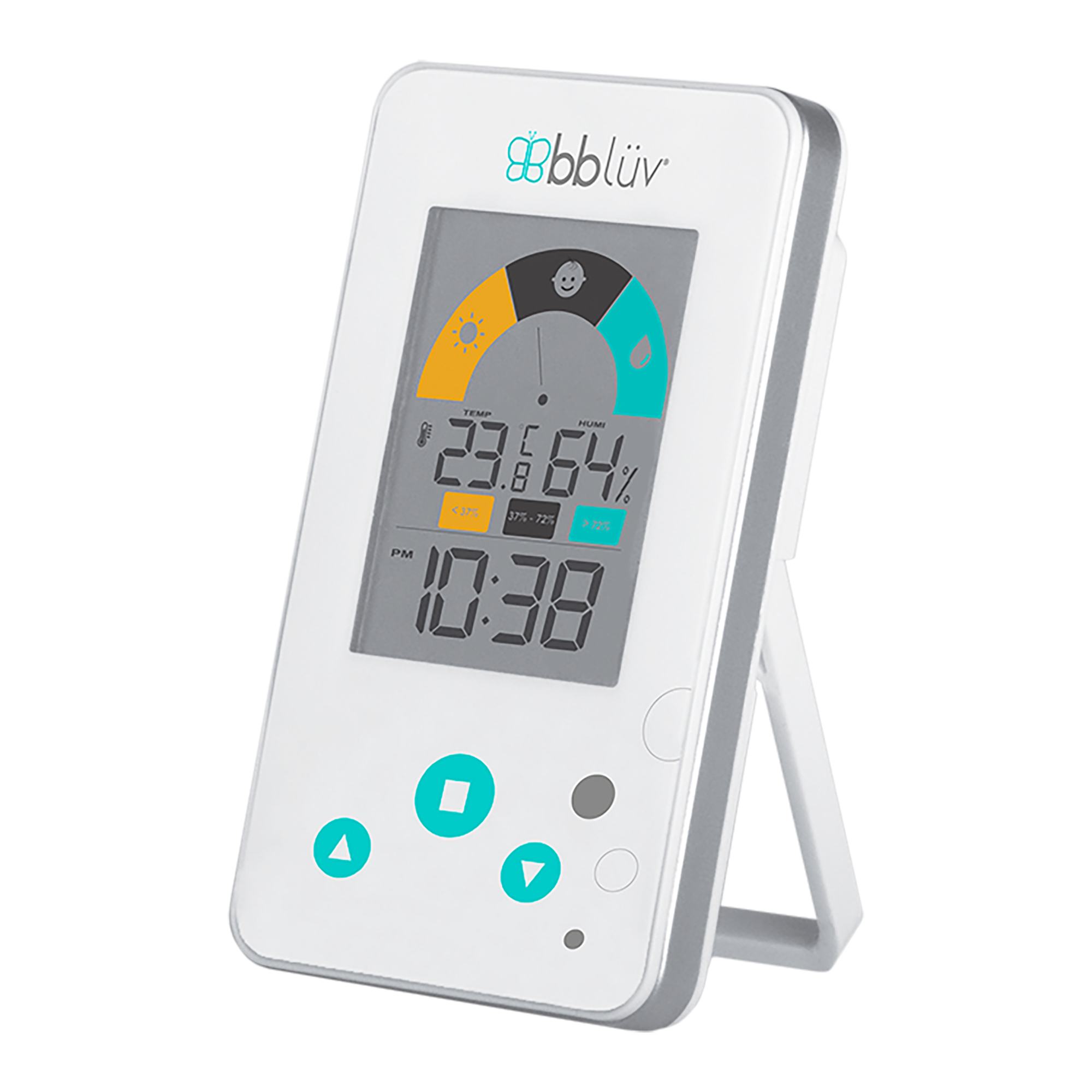 Igrö � 2 in 1 digital Thermometer Hygrometer for Babys Room by Hygrometers