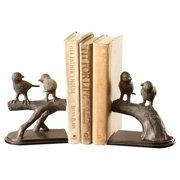 SPI Home Bird on Branch Book Ends (Set of 2)