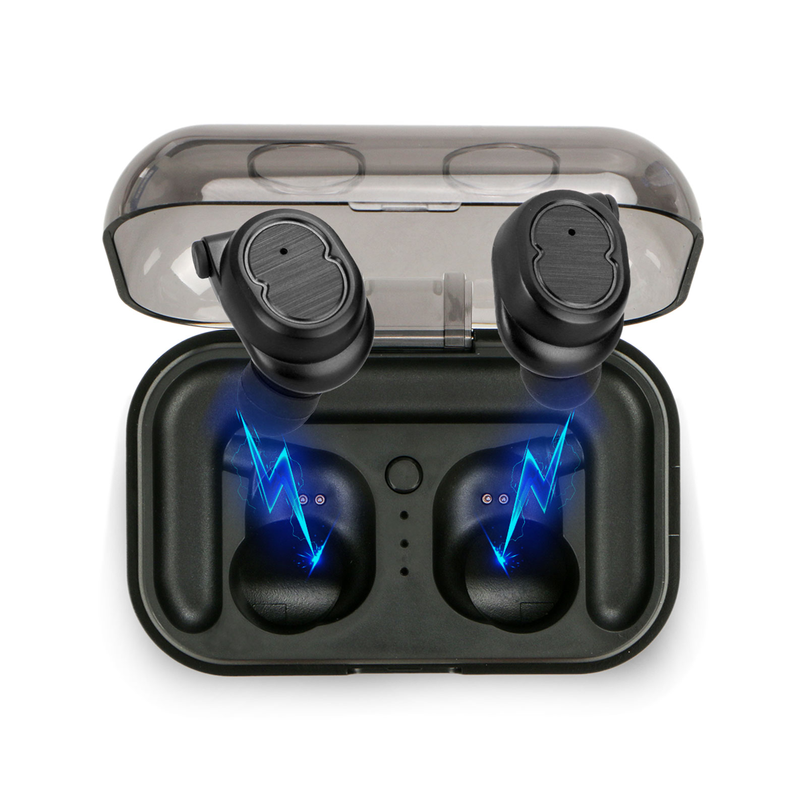 EEEKit TWS Bluetooth Earbuds Mini CSR 5.0 Stereo Sport Headphones with Charging Case for Smartphones, Tablets and Other Bluetooth Enabled Devices