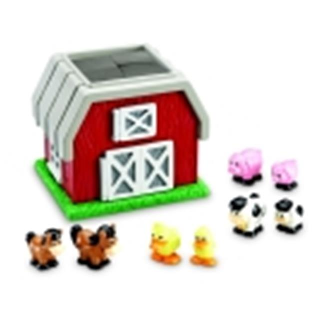 Learning Resources Hide & Go Moo Farm Set