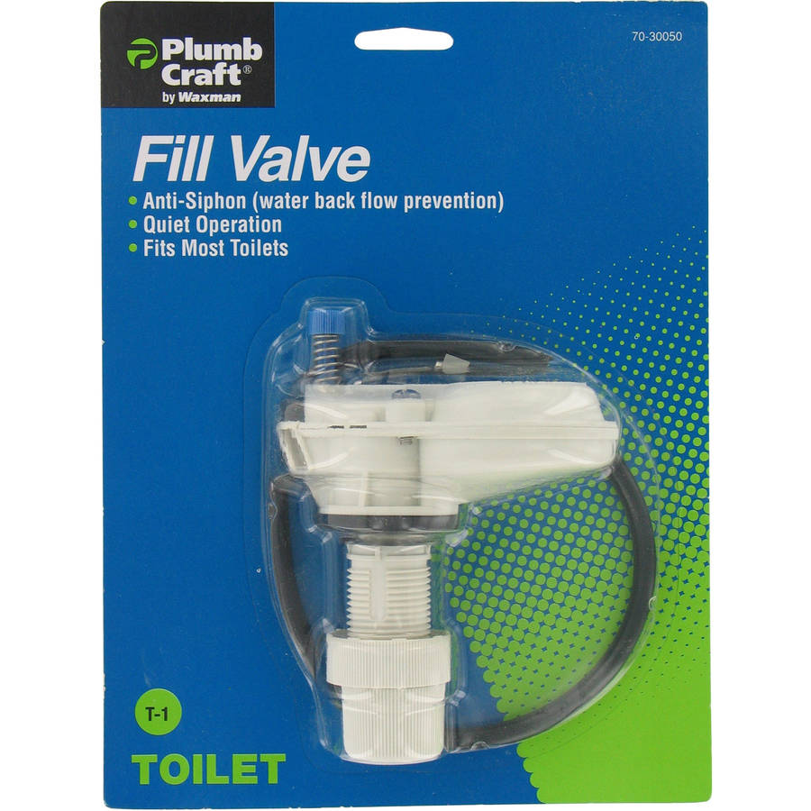 Plumb Craft Waxman 7030050 Water Saver Anti-Siphon Fill Valve