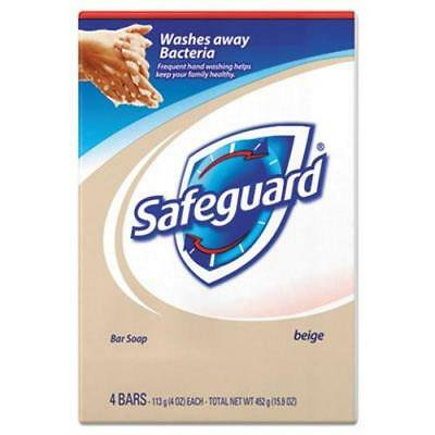 Safeguard 08833 Deodorant Bar Soap, 4-oz., 48 Bars