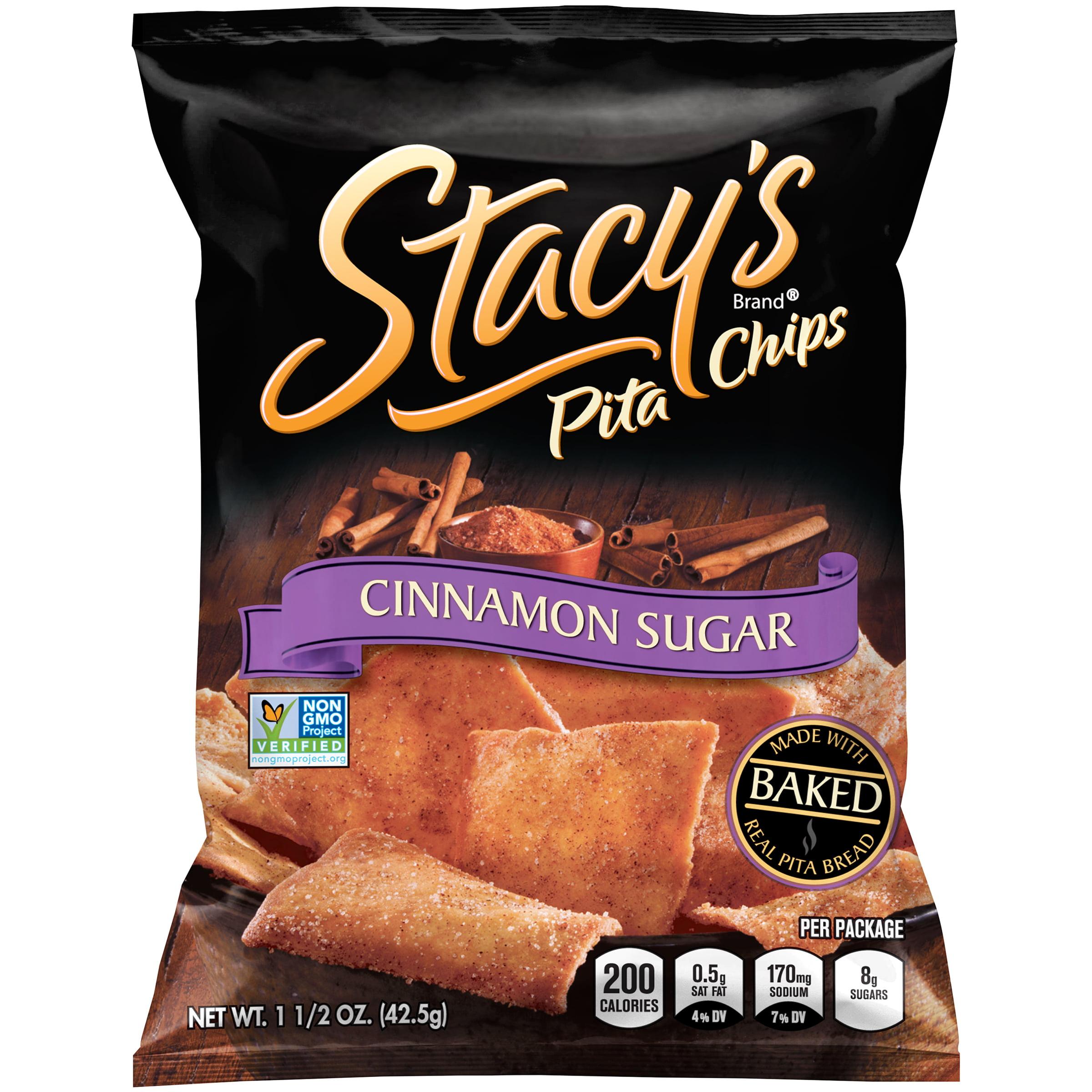 Stacys cinnamon sugar pita chips