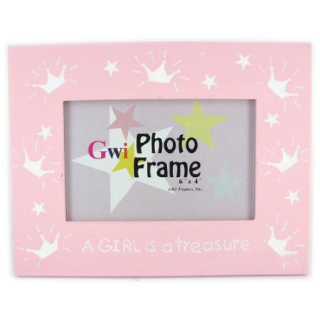 A Girl is a Treasure Picture Frame by GWI - Girl Picture Frame Gift