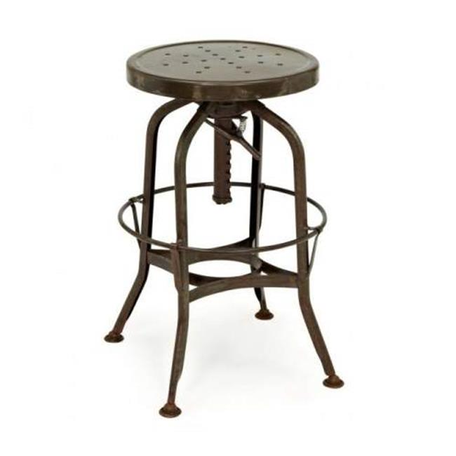 Design Lab MN LS-9200-RST Toledo Adjustable Barstool - Rustic