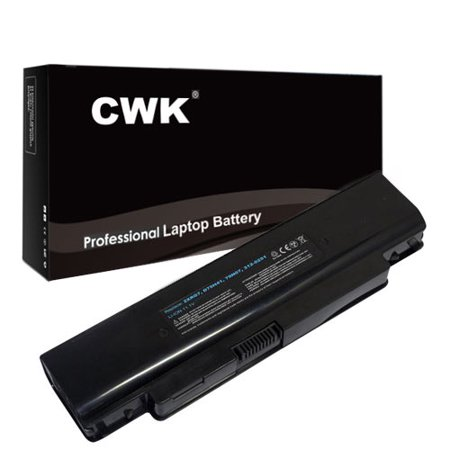 CWK Long Life Replacement Laptop Notebook Battery for Dell Inspiron D75H4 1120 1121 M101Z 11Z P07T P07T001 P07T002 M101 1120 1121 M101ZD M101Z M101ZR