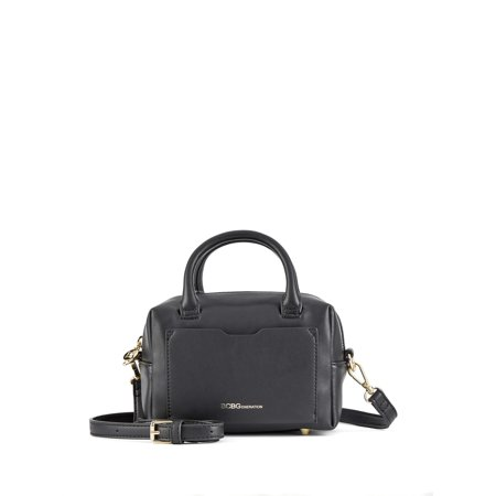 BCBGeneration Sophia Square Micro Satchel (Lug Purses Handbags)
