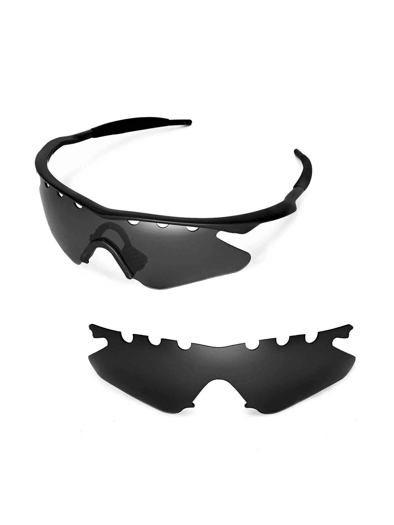 99f3a8f31073 Walleva - Walleva Fire Red Polarized Vented Replacement Lenses for Oakley M  Frame Heater Sunglasses - Walmart.com