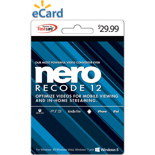 Nero Recode 12 $29.99 eGift Card (Email Delivery)