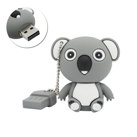 Cute Cartoon Koala Shape 16GB USB 2.0 Flash Drive Pen Drive (16 Gb Pen Drive Lowest Price In India)