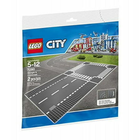 LEGO City Supplementary Straight & Crossroad 7280 Plates, Best (Best Collector Lego Sets)