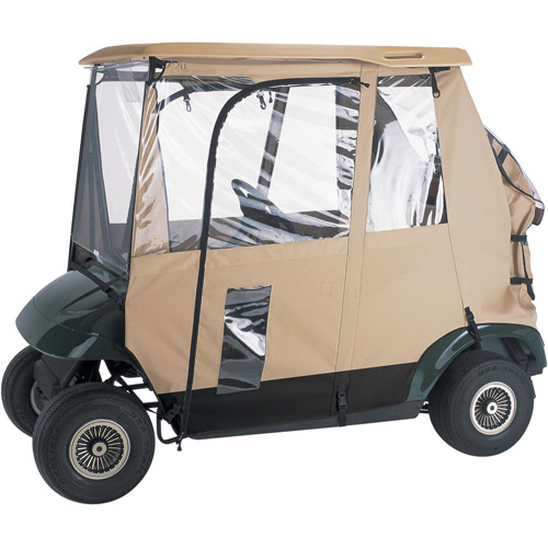 Classic Accessories Deluxe 3-Sided Golf Car Enclosure