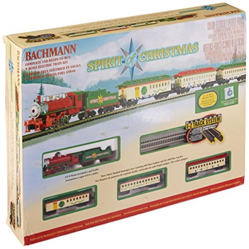 Bachmann Spirit Of Christmas Ready To Run Electric Train ...