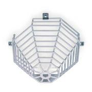 SAFETY TECHNOLOGY INTERNATIONAL STI-9610 Smoke Detector Guard,Steel Wire,Surface