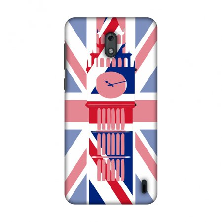 Nokia 2 Case, Ultra Slim Designer Snap On Hard Shell Case Back Cover with Screen Cleaning Kit for Nokia 2 - Big Ben- UK (Designer Sale Online Uk)
