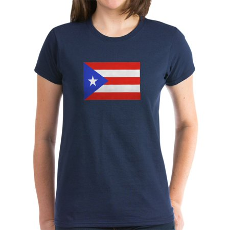 3cce9a3ff CafePress - Made In Puerto Rico Women's Dark T Shirt - Women's Dark T-Shirt