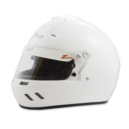 ZAMP Large White RZ-58 Snell SA-2015 Helmet P/N - Xxx Large Snell Helmet