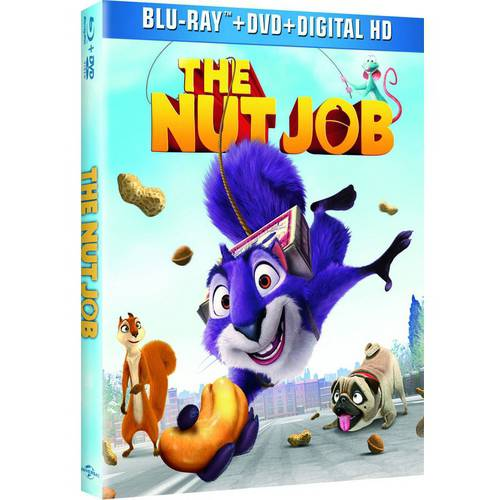 The Nut Job (Blu-ray + DVD + HD Digital) (With INSTAWATCH) (Widescreen)