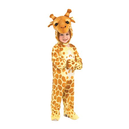 Silly Safari Giraffe Toddler Costume