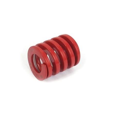 30mm OD 35mm Long Medium Load Spiral Stamping Compression Die Spring - Rev Spring