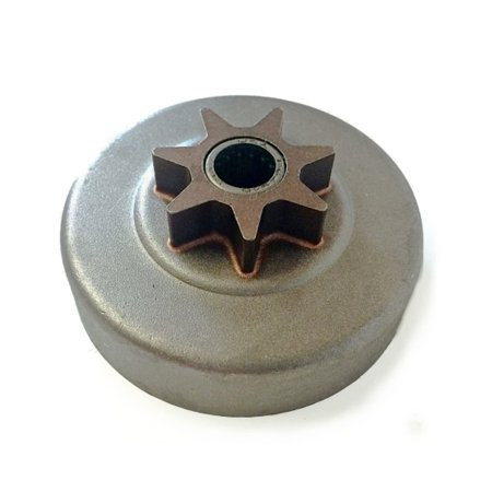 Husqvarna Replacement .325-7 Tooth Clutch Drum / Oiler Assembly for 141, 235, 236, 240 Chainsaws / 530048132