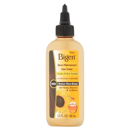 Bigen Semi Permanent Hair Color  Wb3 Medium Warm Brown  3 Oz