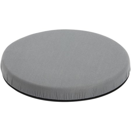 Deluxe Seat Lift Cushion - Deluxe DMI Portable Swivel Seat Cushion for Car, Padded Medical Seat Cushion for Seniors and Elderly, Automotive Seat Cushion for Car