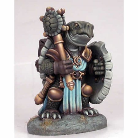 Tortoise Cleric Miniature Critter Kingdoms Dark Sword Miniatures