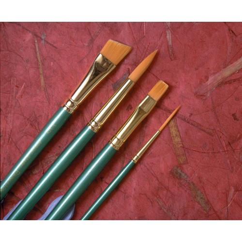 Princeton Artist Brush Synthetic Watercolor Filbert Brush (Set of 3)