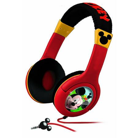 Mickey Mouse Kids Mouska-riffic Headphones - Minnie Mouse Headphones