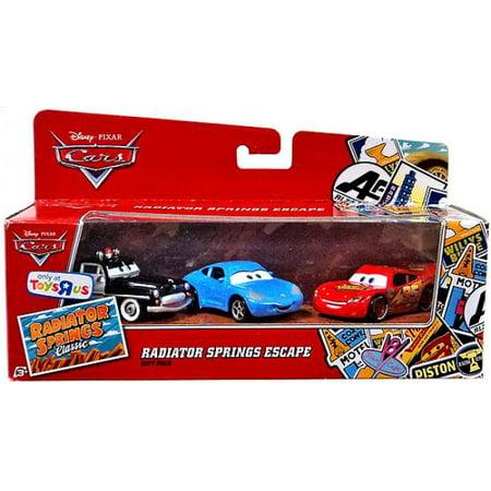 Disney Cars Radiator Springs - Radiator Springs Escape Gift Pack Diecast Car Set Disney Cars