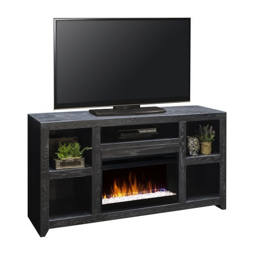 Legends Furniture Night Moves 62 in. Electric Media Fireplace