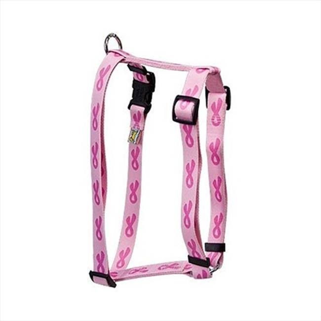 Yellow Dog Design Breast Cancer Roman Harness