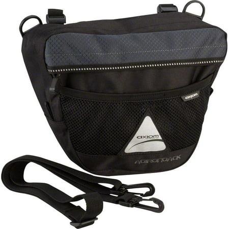 Axiom Adirondack 4.5 Handlebar Bag: Black
