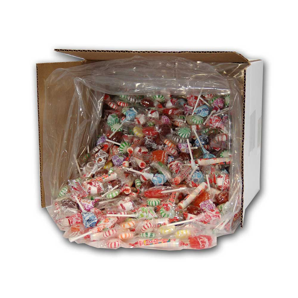 Hard Candy, Lollipop and Smarties Mix 9 lb case