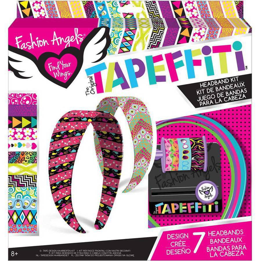 Fashion Angels Tapeffiti Headband Kit Walmart Com Walmart Com