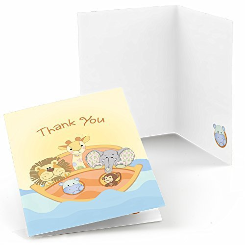 Noahu0027s Ark   Baby Shower Thank You Cards (8 Count)