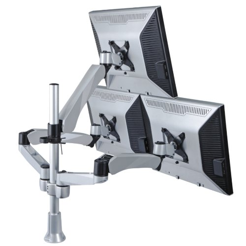 "Mount-It! Computer Monitor Mount for LCD or LED 13"" – 27"" Screen Sizes, Height Adjustable, Articulating, Full Motion (MI-55111)"