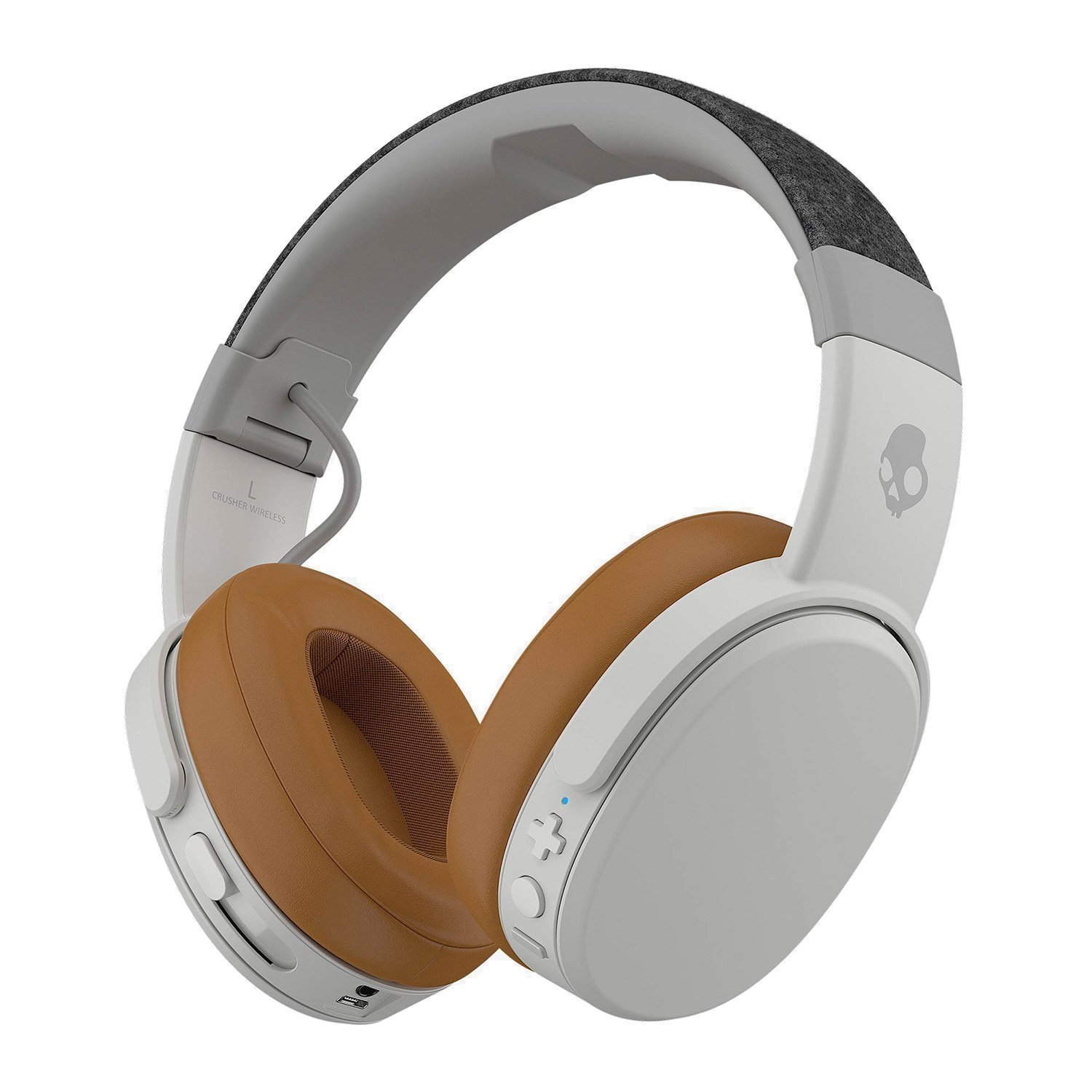 Skullcandy Crusher Over-Ear Headphones with Microphone Gray/Tan