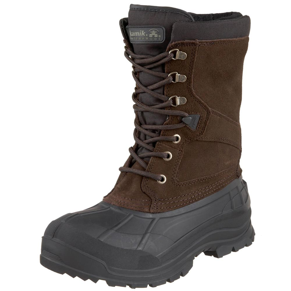 Kamik Nationwide Waterproof Insulated Wide Width Winter Boot Men by Winter Boots