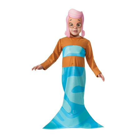 Toddler Bubble Guppies Molly Halloween -