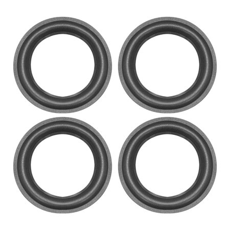 6.5 inch Speaker Foam Edge Surround Rings Replacement Part for Speaker Repair or DIY 2 pcs ()