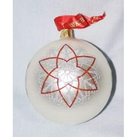 Waterford Christmas Starburst Ball Ornament