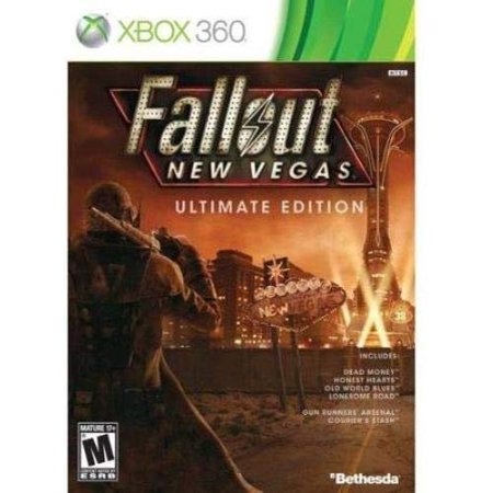 Fallout New Vegas Ultimate Edition - Xbox 360 (Best Xbox 360 Games Ever)