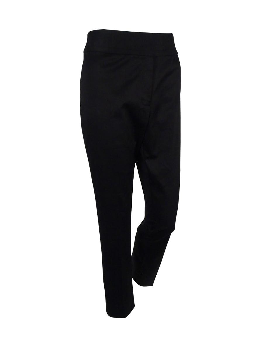 Tahari Women's 'Eli' Straight-Leg Poplin Pants